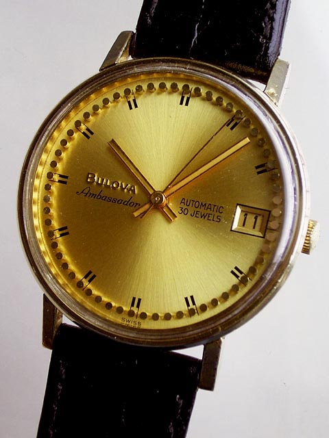 Bidfun Db Archive Wrist Watches 946 Gents Bulova