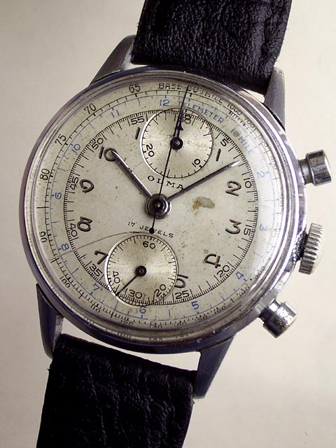 Bidfun Db Archive Wrist Watches 879 Gents Olma Manual