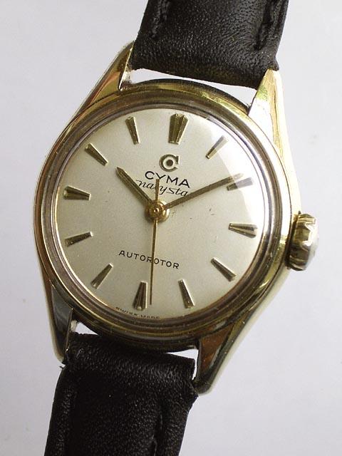Bidfun Db Archive Wrist Watches 114 Ladies Cyma Navy