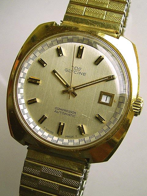 Bidfun Db Archive Wrist Watches 277 Gents Glycine