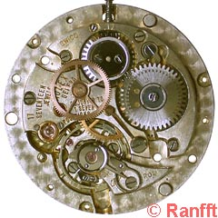 Rolex 630, base movement