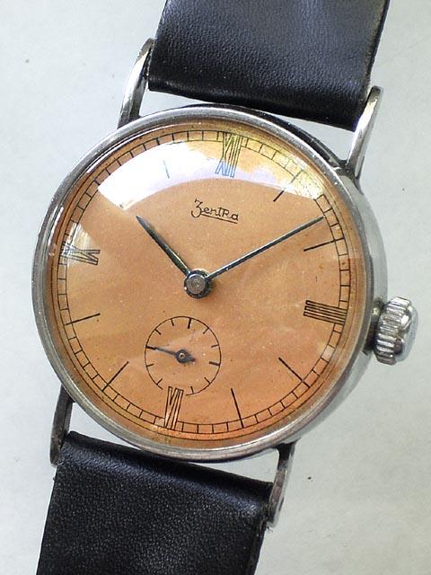 History zentra watch Swiss made